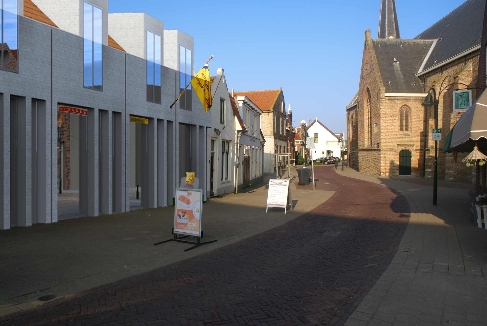 appartementen Kerkstraat Strijen